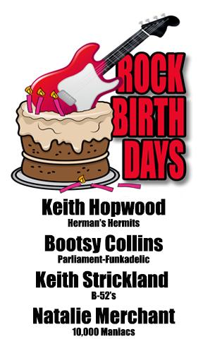 Rock Birthdays-October 26