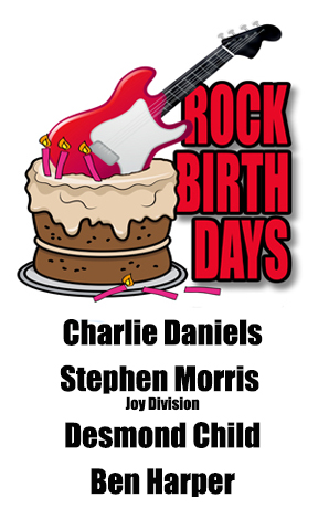 Rock Birthdays-October 28