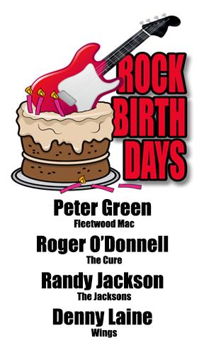 Rock Birthdays-October 29
