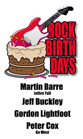 Rock Birthdays – November 17