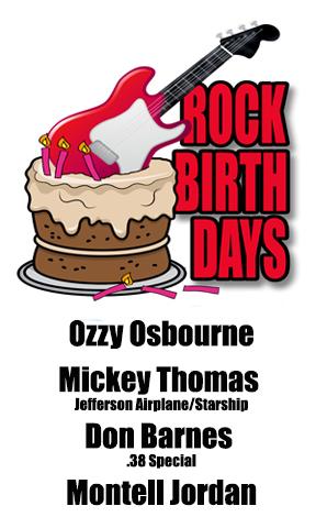 Rock Birthday – December 3