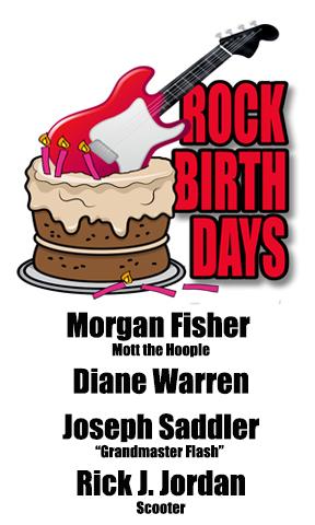 Rock Birthdays – January 1