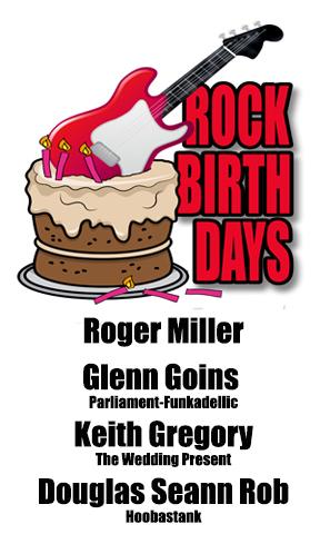 Rock Birthdays – January 2
