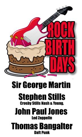 Rock Birthdays – January 3