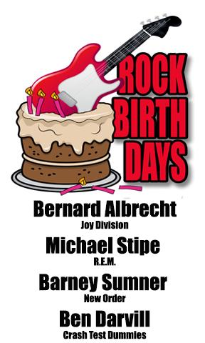 Rock Birthdays – January 4