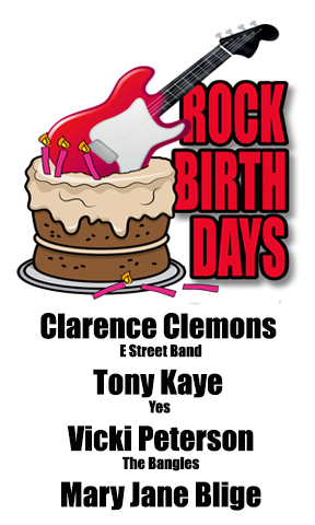 Rock Birthdays – January 11