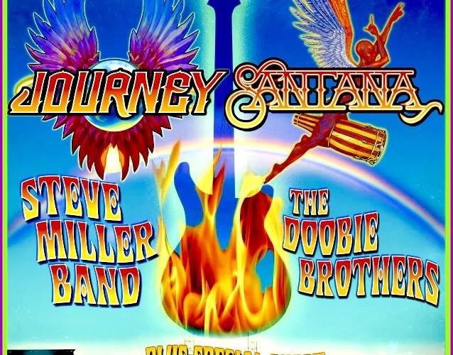 Journey, Santana, Steve Miller Band, The Doobie Brothers to rock AT&T Park