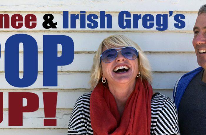 Renee & Irish Greg's Pop UP! Episode #9: Cookies'n'Beer w/ Lucas Ohio Pattie and Greg Greg Loiacono