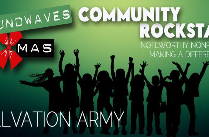 Soundwaves Xmas 2016: Salvation Army