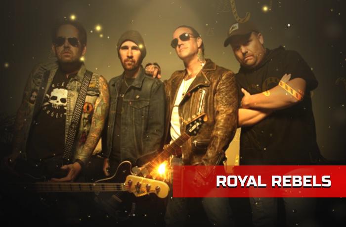 Soundwaves Xmas 2019: Royal Rebels