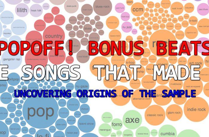 PopOff Bonus Beats: The Songs That Made Vol. 1