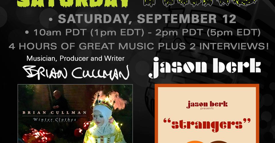 DJ Mike Show #147 9/12/2020: Interviews with Brian Cullman and Jason Berk