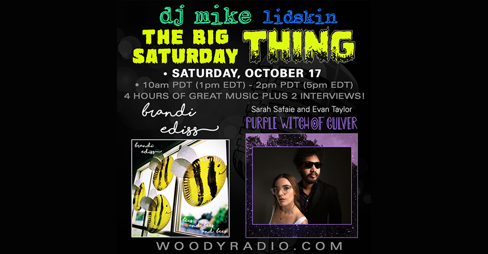 DJ Mike Show #157 – 10/17/2020: Interviews with Brandi Ediss and Purple Witch of Culver!