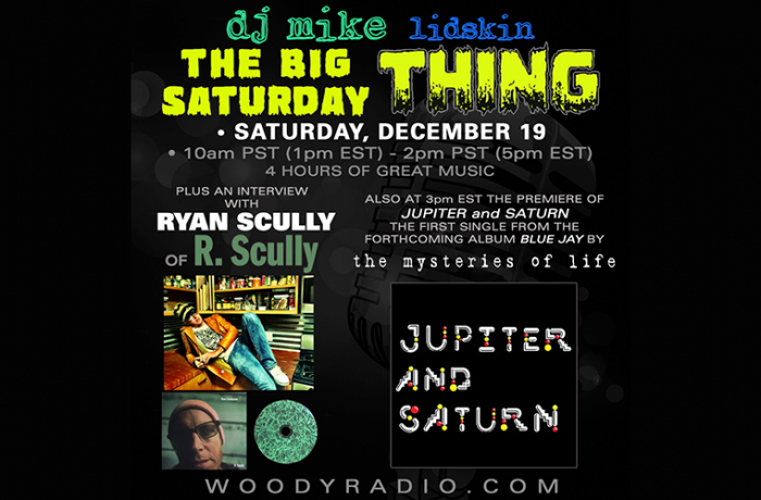 DJ Mike Show #174 – 12/19/2020: Ryan Scully interview and new track premiere from The Mysteries of Life!
