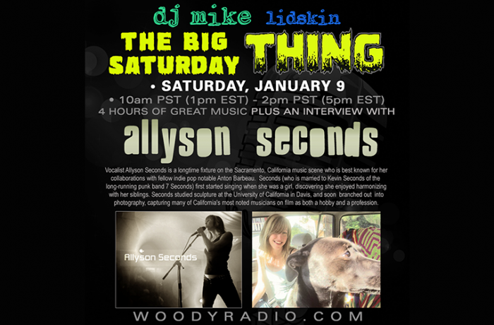 DJ Mike Show #180 – 1/09/2021: Allyson Seconds interview!