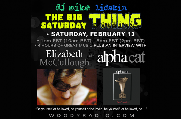 DJ Mike Show #190 – 2/13/2021: Interview with Elizabeth McCullough of Alpha Cat!
