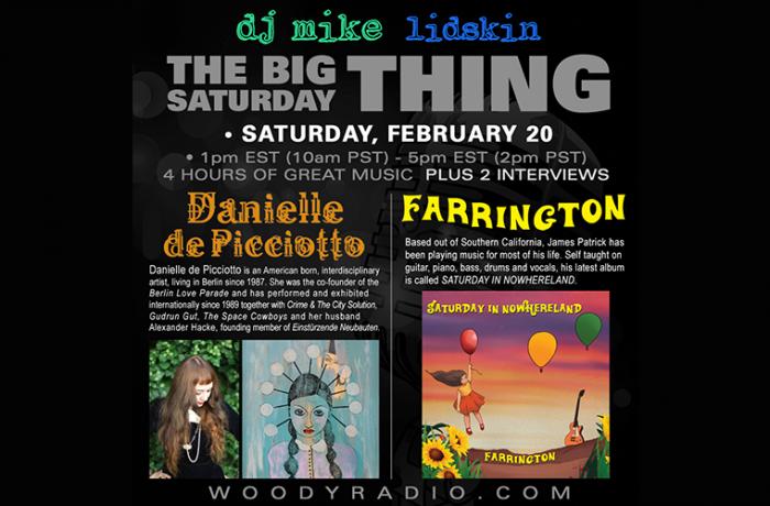 DJ Mike Show #192 – 2/20/2021: Interviews with Danielle de Picciotto and Farrington!