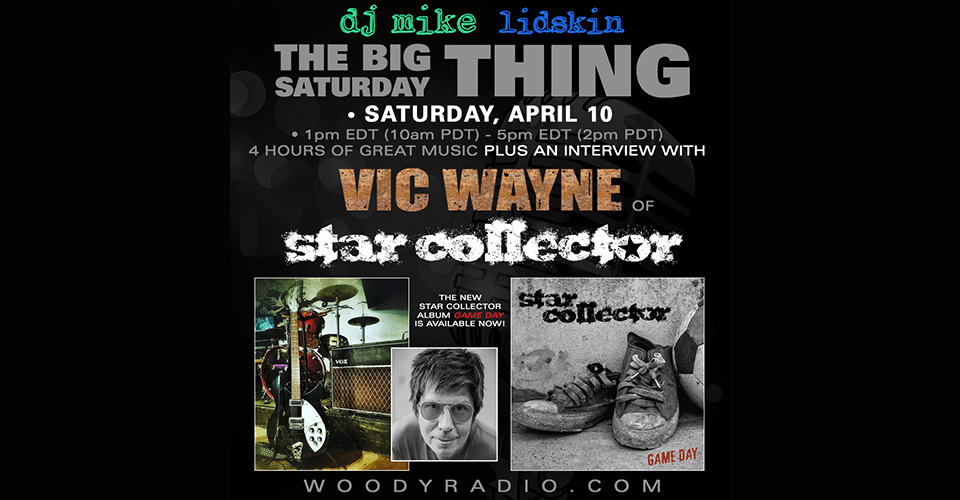 DJ Mike Show #206 – 4/10/2021: Interview with Vic Wayne of Star Collector!