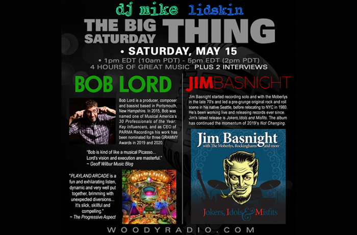 DJ Mike Show #216 – 5/15/2021: Interviews with Bob Lord and Jim Basnight!